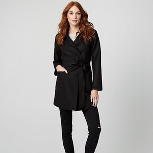 Le Chateau Belted Light Weight Coat (Size: XXS)